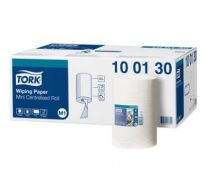 Tork wiping paper mini centerfeed, 1 laags wit